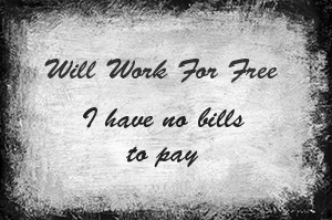 Work 4 Free - © 3 Penguins Design